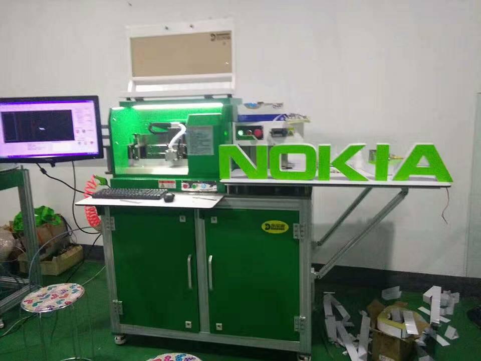 Máy uốn chân chữ tự động ,máy uốn chân chữ inox