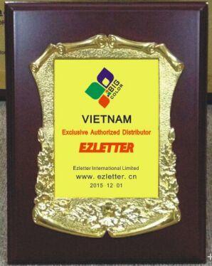 Bigcolor Việt Nam chính thức trở thành đại lý độc quyền EZLETER tại Việt Nam