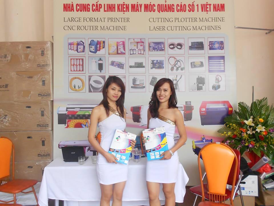 Hội trợ triển lãm năm 2013 tại Hà Nội